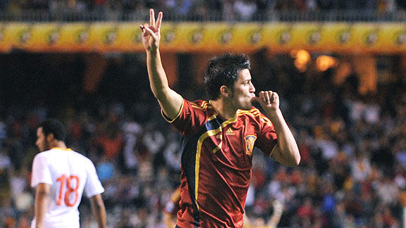 España 5 - 0 Bélgica